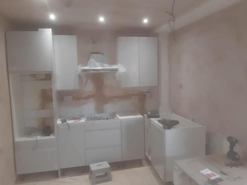 Image 31 - Oldham Extension Project - During - Kitchen Installation