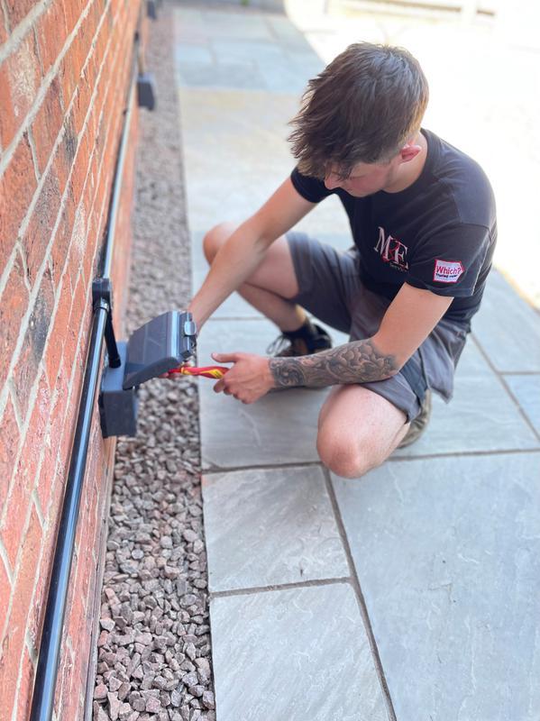Image 2 - Outdoor socket installation: June 2021