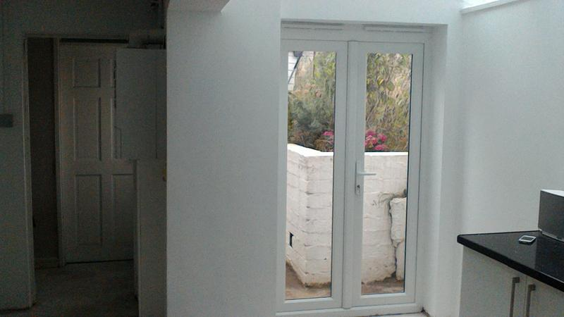 Image 66 - New french doors fitted