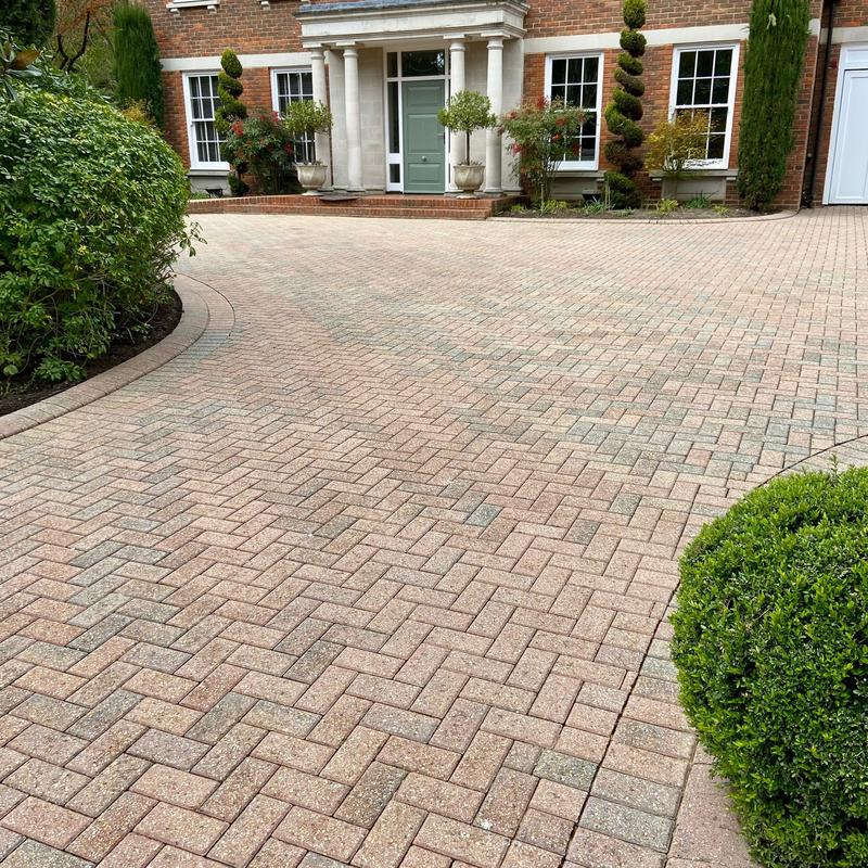 Image 12 - A Burwood Park driveway, cleaned, treated and re-sanded.