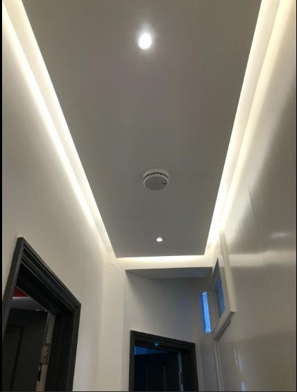 Image 30 - LED lighting in dropped ceiling