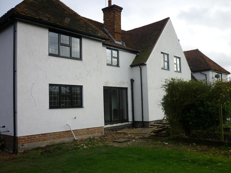 Image 16 - Double storey extension and house refurb for clients near buntingford