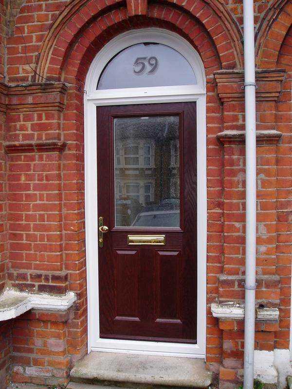 Image 23 - Rosewood composite door