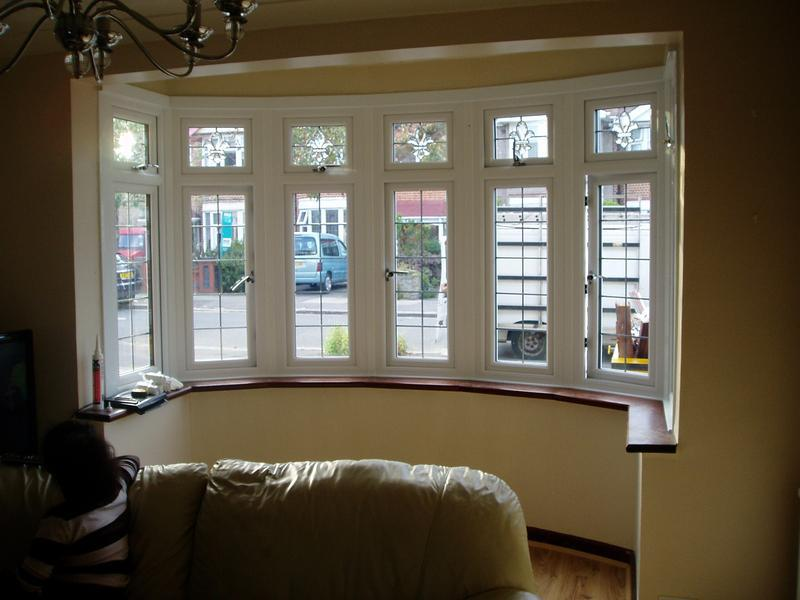 Image 18 - Inside view of seven part bay windows