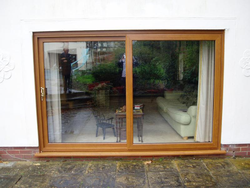 Image 17 - Light oak patio doors