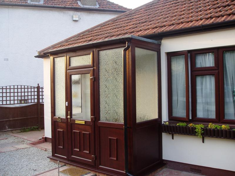Image 9 - Rosewood Upvc porch