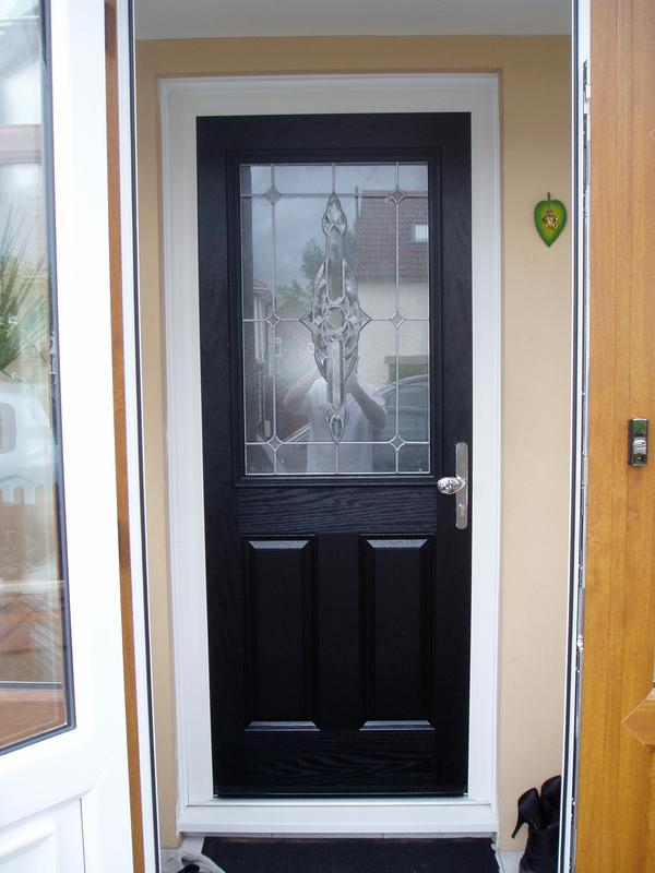 Image 20 - Black composite door