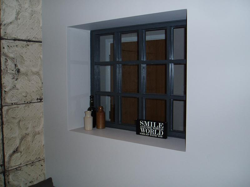 Image 29 - Feature glazed panel to throw light into family room from hall