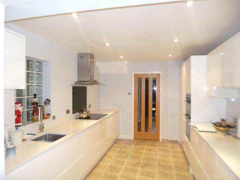 Image 38 - White Handleless Kitchen installed in Bicester