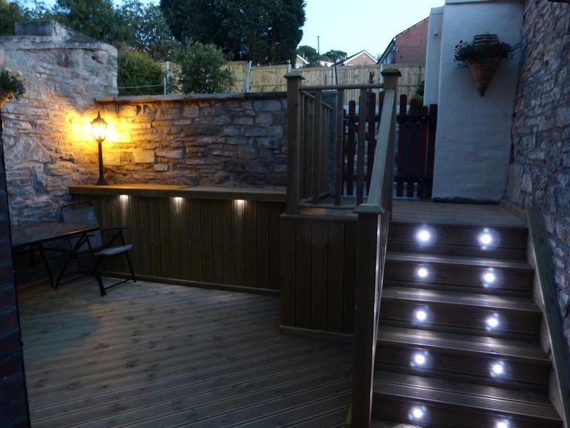Image 30 - Decking to a back yard