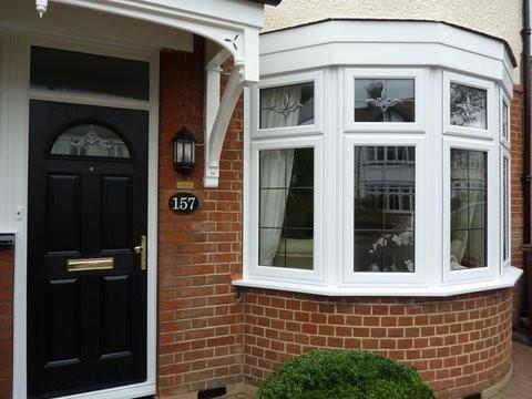 Image 3 - Black composite door & bay window