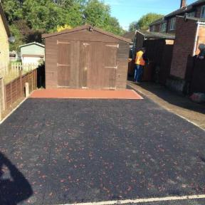 Image 139 - Tarmac with red chipping