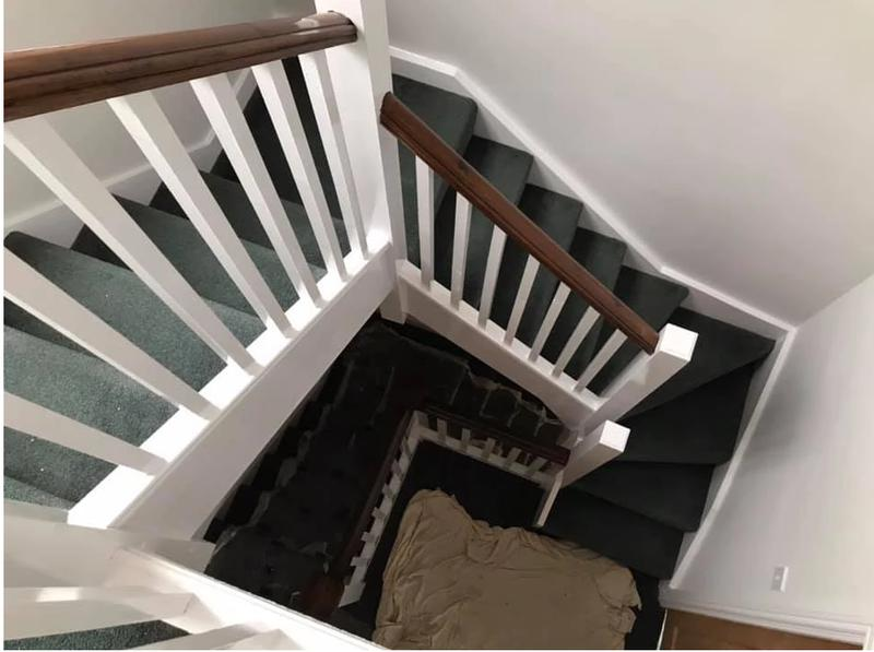 Image 36 - Redecorated Staircace in Sutton Coldfield happy customer