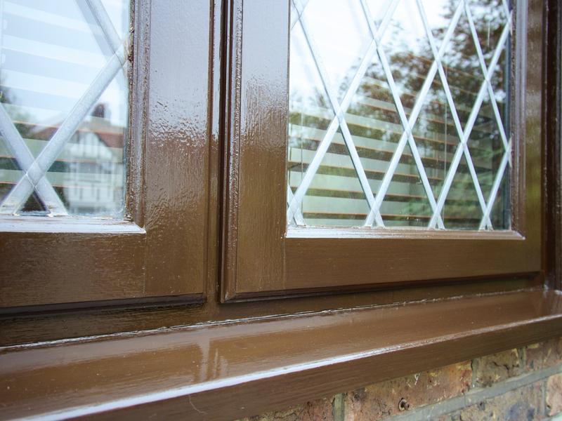 Image 188 - Exterior Varnishing. Saddolin Extra Rosewood.
