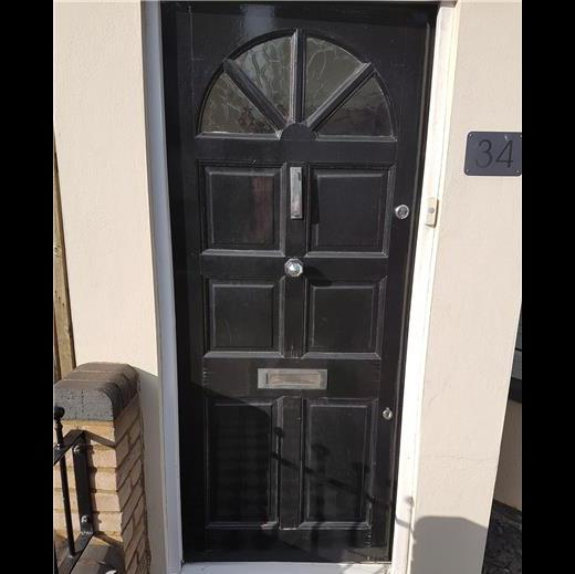 Image 148 - Front door and surround before works carried out