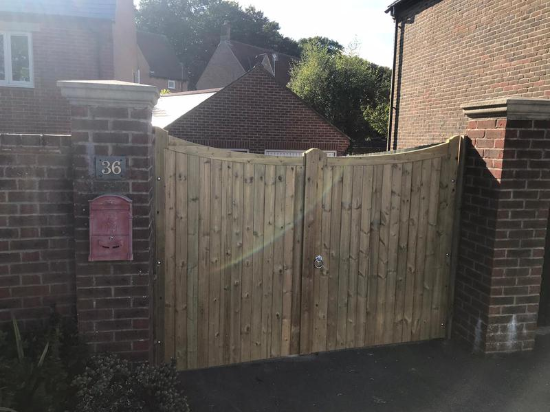 Image 27 - Reverse balmoral gates fitted in Dorchester