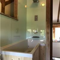 Image 1 - Customer required panelling rather than tiles, shower plumbed in too