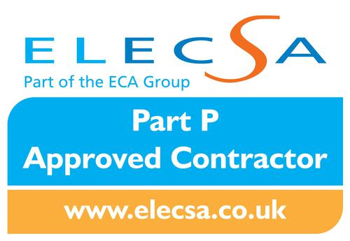Part P Approved Contractor (Elecsa) logo