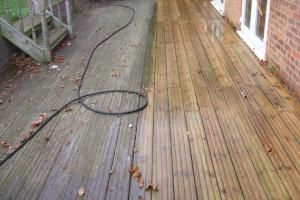 Image 195 - Decking surface cleaning