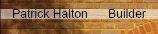 Patrick Halton Builder logo