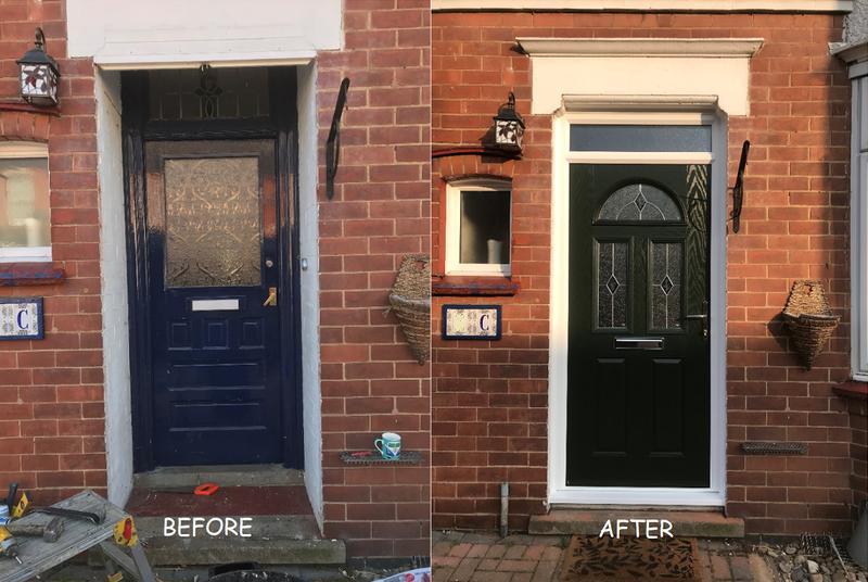 Image 44 - New Composite front door looks stunning