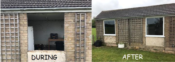 Image 192 - New Garage Windows