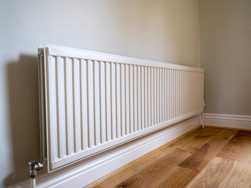 Image 133 - Colour Coded Radiator in 'Portland' Grey