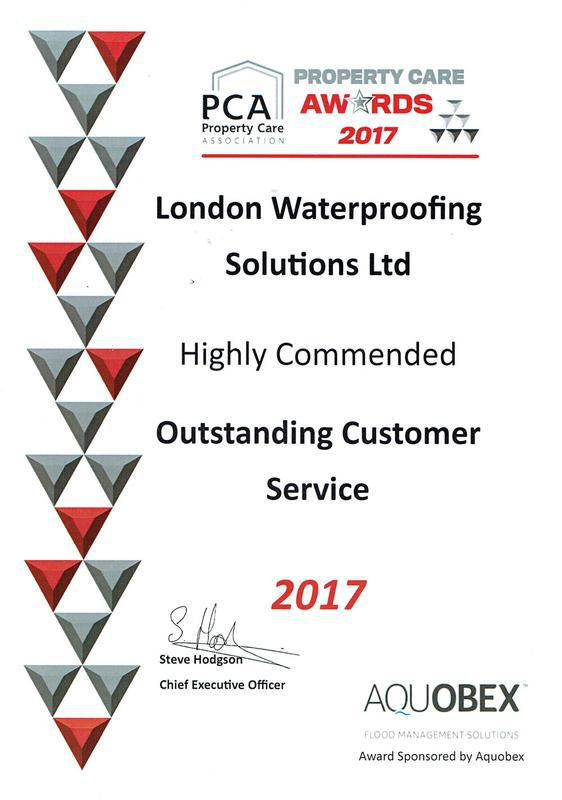 Image 2 - PCA Customer Service Award 2017 - Highly Commended