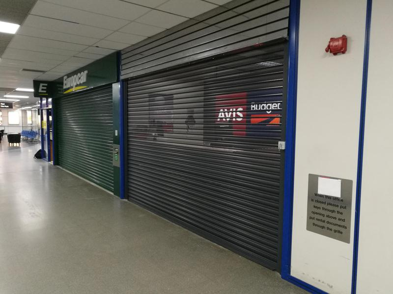 Image 15 - Security Shutter fitted for Avis in Norwich Airport