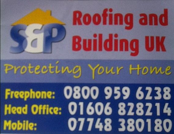 S&P Roofing & Building logo