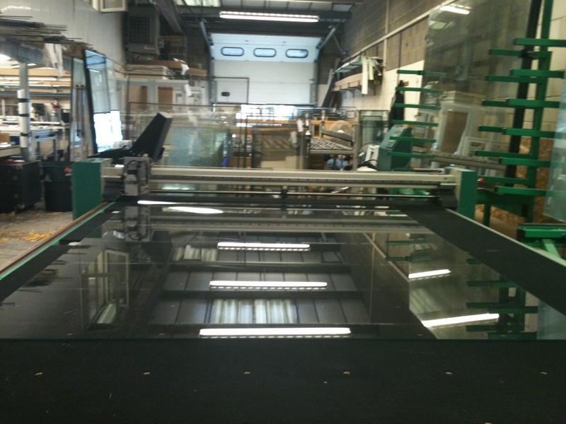 Image 1 - Our state of the art Glass cutting centre