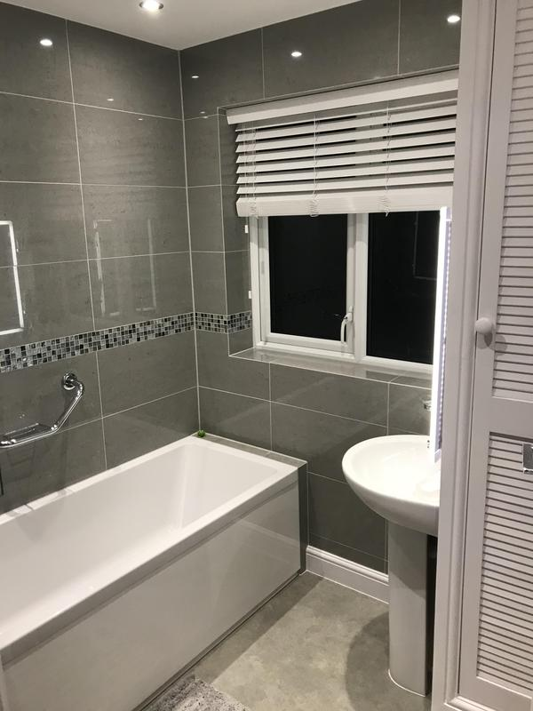 Image 26 - Bathroom Installed in Croydon for a disabled client. January 2020