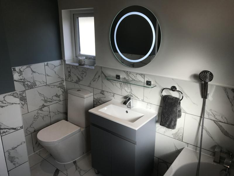 Image 26 - Bathroom Installation, Shirley Feb 2020