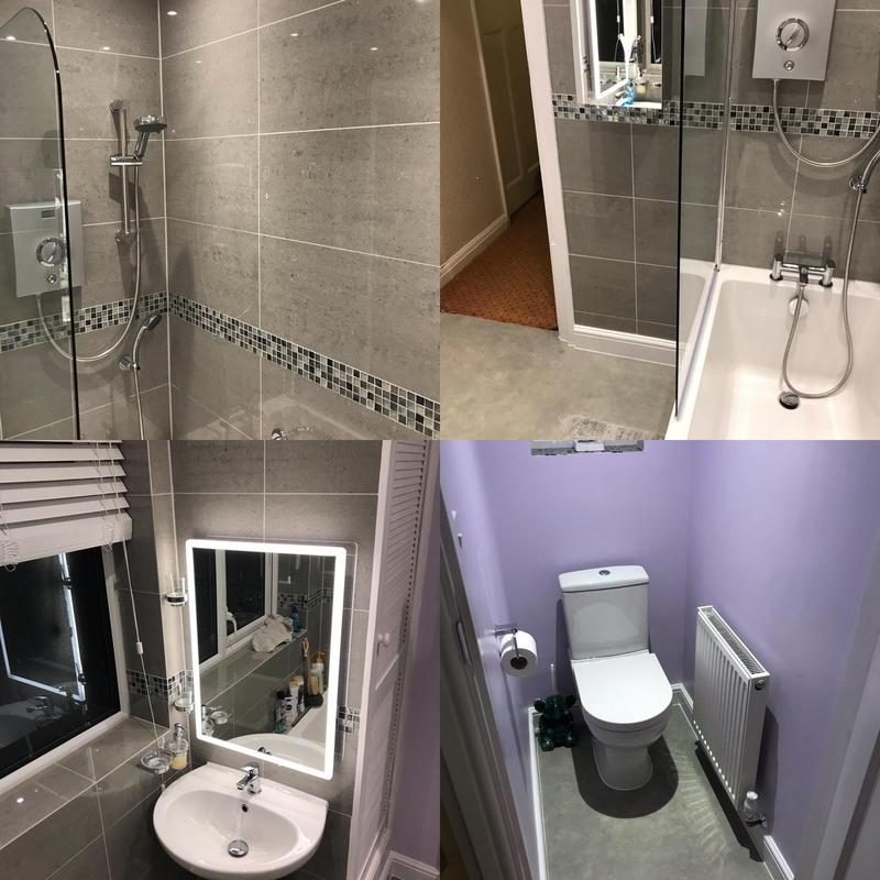 Image 3 - Bathroom Installed in Croydon for a disabled client. January 2020