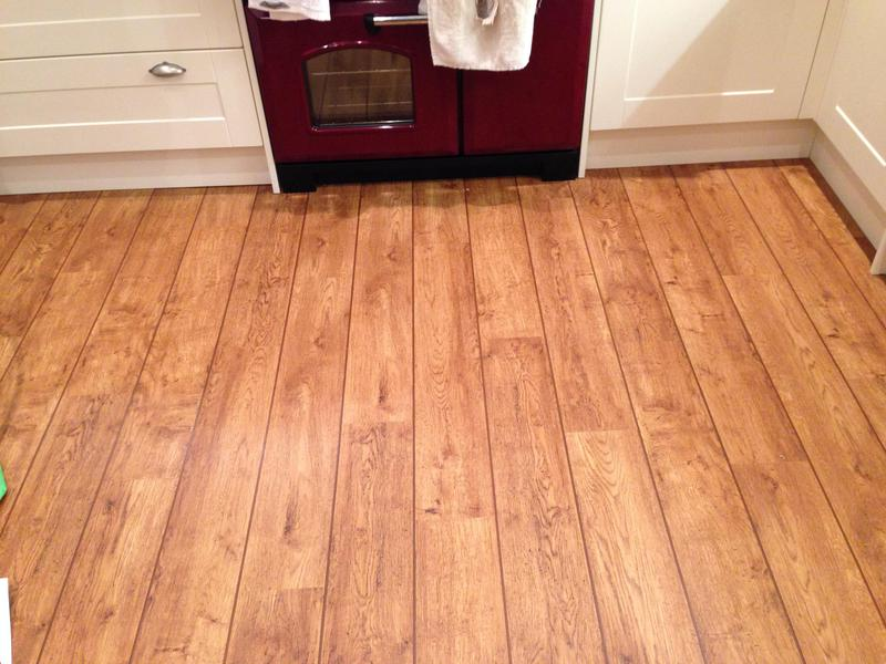 Image 41 - Polyflor Camaro Vintage Timber with Brown Feature Strips