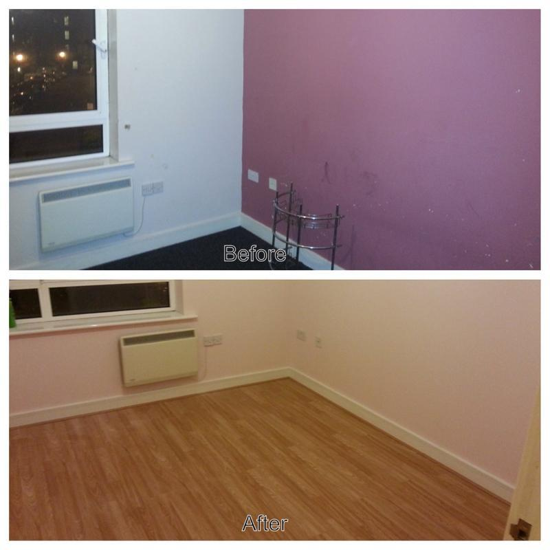 Image 6 - laminate floor and painting