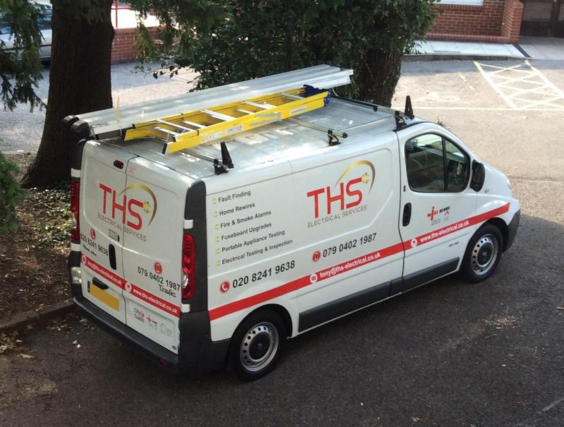 Image 59 - THS Electrical Services Van