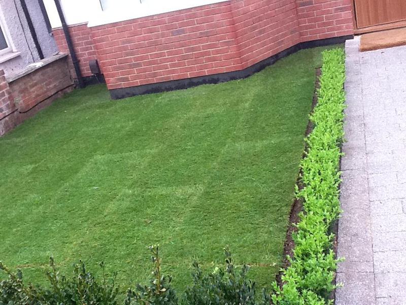 Image 13 - The new low maintenance garden landscaped and ready to enjoy
