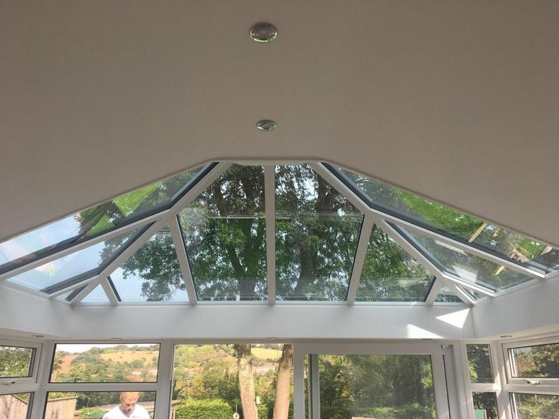 Image 26 - Combine glass and plaster internally in a new Ultraframe conservatory. Personalising to extreme comfort and design.www.conservatorymakeovers.com
