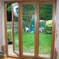Image 5 - Bi-Fold Oak doors