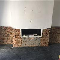 Image 23 - Rising damp repairs to flank wall