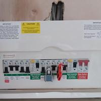 Image 4 - Competed consumer unit & certified