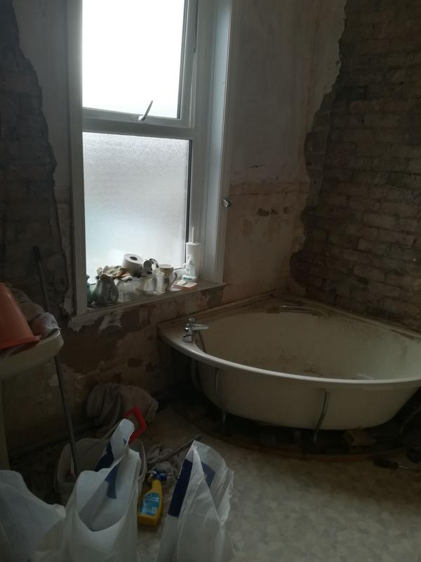 Image 1 - Start Stripping the old dated bathroom