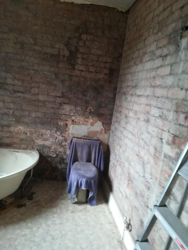 Image 2 - Start Stripping the old dated bathroom