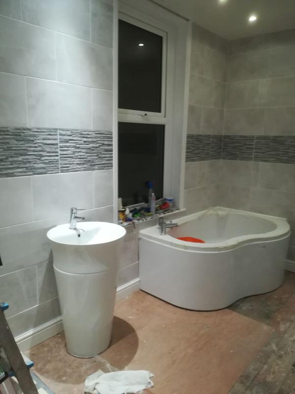Image 7 - completed all tiling and grouting