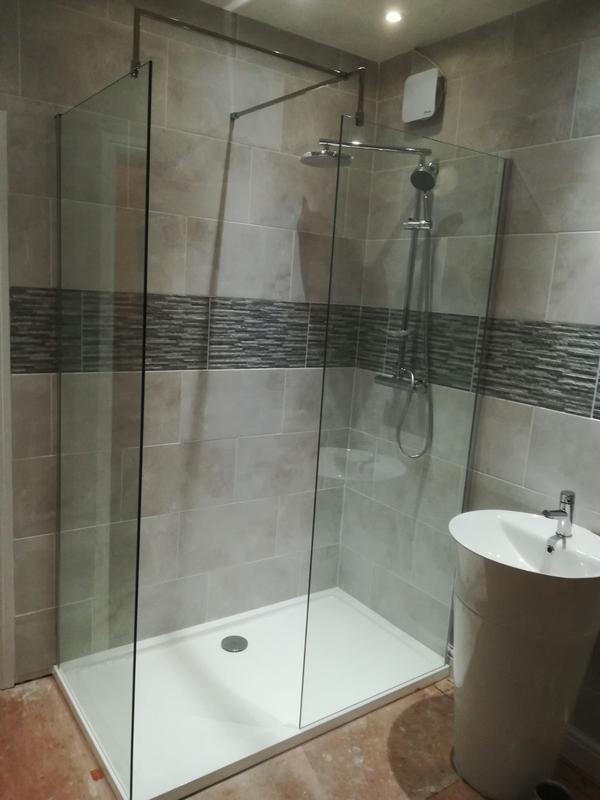 Image 11 - installed the new shower