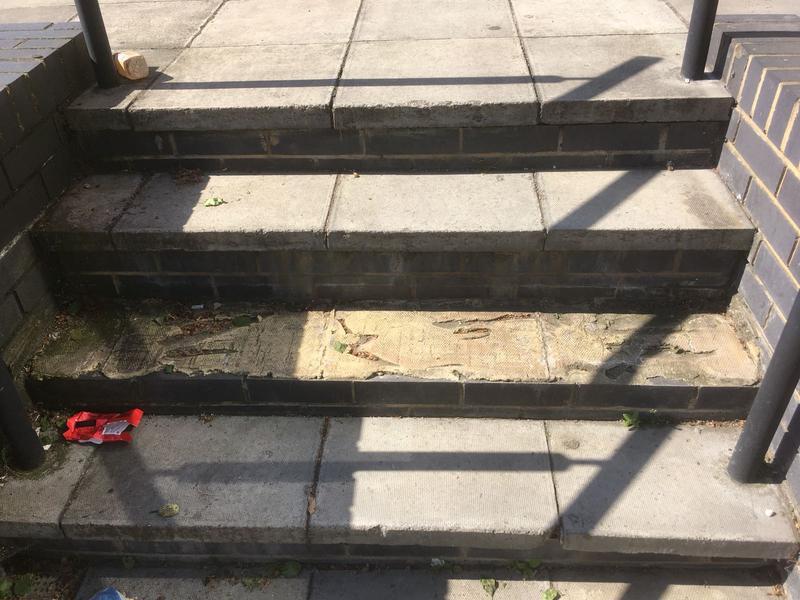 Image 18 - Step repair