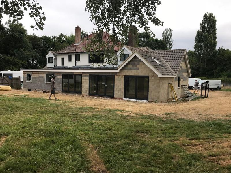 Image 2 - House extension July 2018