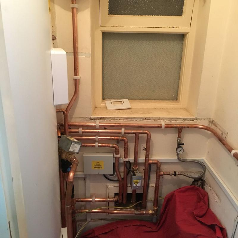 Image 13 - Unvented cylinder installed to replace combi boiler to maximise the water pressure as house was being converted into student accommodation.