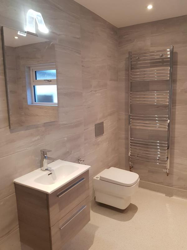 Image 3 - This Wet Room is a totally waterproofed or tanked bathroom with a shower area at the same level as the rest of the floor.